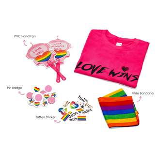 Pink Dot LOVE WINS Shirts (PINK PACK - LGBT PRIDE)