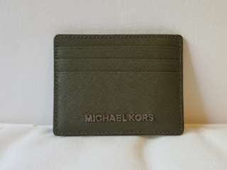 MICHAEL KORS Card Holder - Khaki