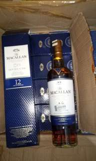 The Macallan 12 yr Double Cask