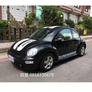 2003年 VW Beetle 黑色 1.6cc