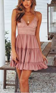 Authentic Hello molly blush dress