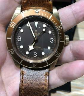 帝舵碧灣系列M79250BM-0001腕表