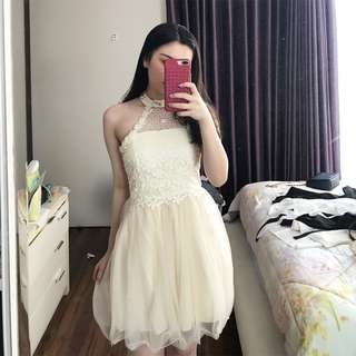 White Party Dress