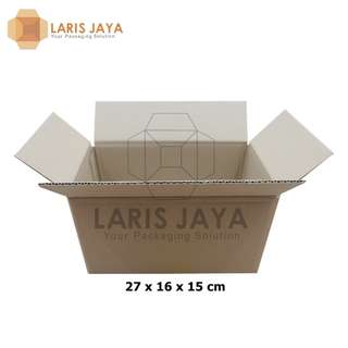 Kardus Packing Polos 27 x 16 x 15 cm
