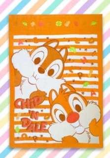 日本直送 chip & Dale 單人毛巾被