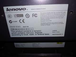 Lenovo 15 inch  monitor