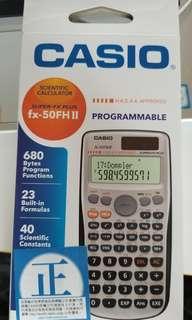 Casio fx-50FH II 計數機