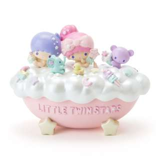 Japan Sanrio Little Twin Stars Accessories Case (Sweet Bath Time)