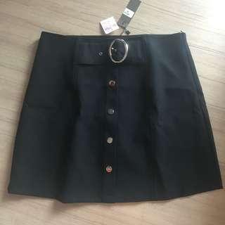 Belted Formal Skirt