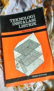Buku Teknologi Instalasi Listri by: Michael Neidle Edisi ke-3