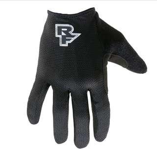 🆕! Raceface MTB Podium Black Full Finger Protective Glove   #OK