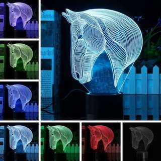 LED Horse Lamp