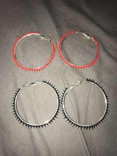 $2 Spikey Earrings