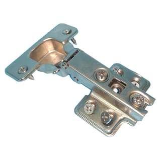 Concealed hinges with 6 screws