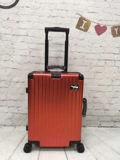 Homemind Full Aluminum Suitcase