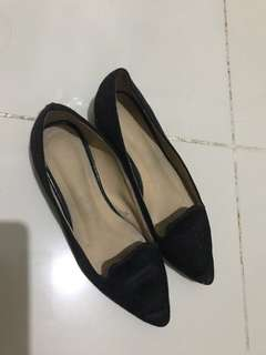 Parisian Shoes JEM Style Black Flats