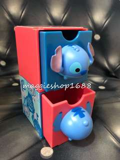 7 -11 × Disney 迪士尼Tsum Tsum 3D造型勞蘇百變組合擺設盒子公仔層層疊