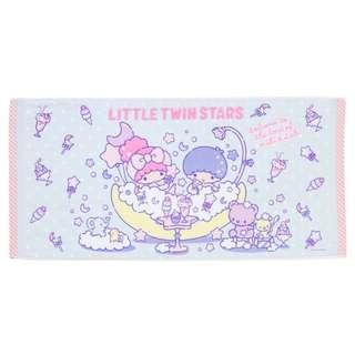 Japan Sanrio Little Twin Stars Bath Towel (Sweet Bath Time)
