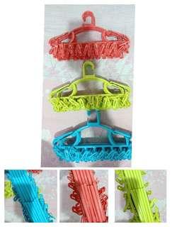 Multi-function hangers sock clips plastic