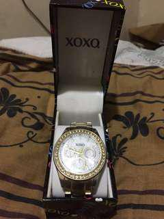 Xoxo gold watch