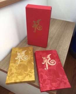Julius Bar red packets