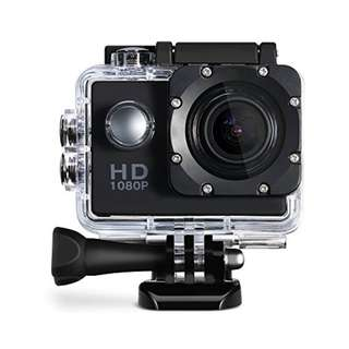 Action Camera 1080P 2 Inch 30M Waterproof Mini Action Outdoor Sport Cam
