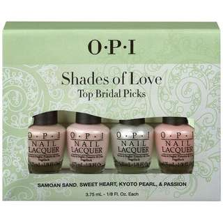 Opi Shades of Love mini. Set of 4