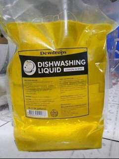 Dewdrops dishwashing liquid