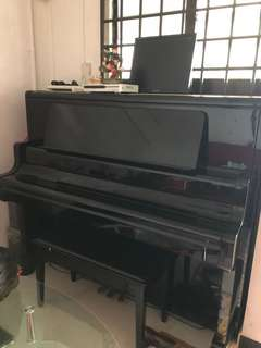 Antique Kawai Upright Grand Piano