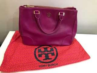 Tory Burch桃紅色手袋