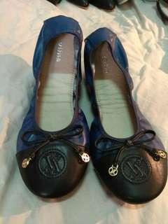 🚚 專櫃!可摺疊超軟真皮芭蕾鞋