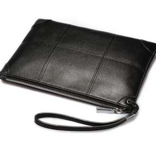 Long MEN's Leather Wallet