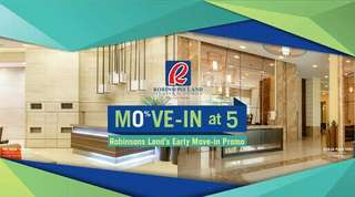 5% DP to Move-in Condo in Pasig