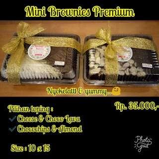 Mini Brownies Premium Size 10x15