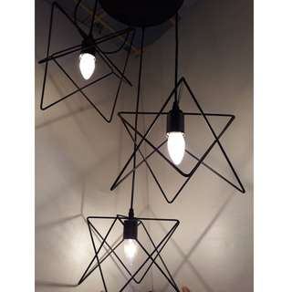 LSH Stylish Decorative Pendant Ceiling Light 17581/3