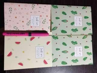 Assorted Notebook Cute Notebooks