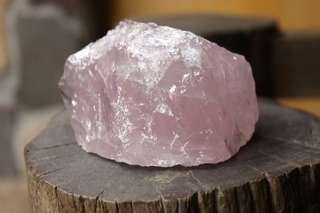ROSE QUARTZ Large Rough Crystal [RQZ002]