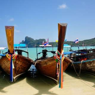 AMI Travel | Discover 7 Islands in Krabi with sunset view by Longtail Boat Day Tour