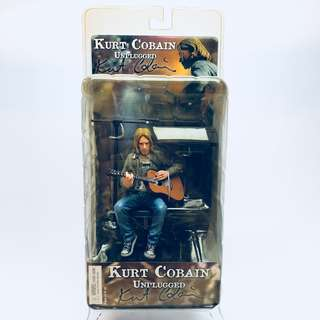 Nirvana Collectible: NECA 2006 Kurt Cobain MTV 1993 Unplugged in New York Figure