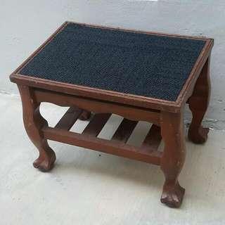Vintage Side Table Cum Chair