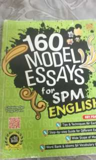 SPM Model essays English