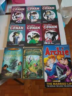 Connan books (almost brand new)