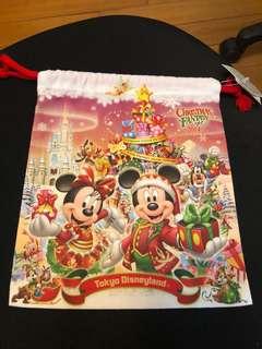 🚚 東京迪士尼 絕版束口袋 聖誕節