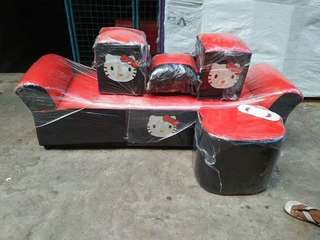 Hello Kitty sofa set