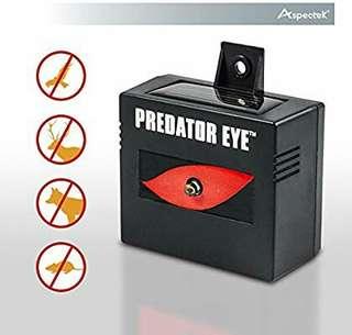 Aspectek Predator Eye Night Time Solar Powered Animal Repeller - 1 Pack, Waterproof