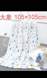 PO Super gd quality latest towel design brand new suitable for all age kids size 105 x 105