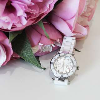 GUESS Gc DIVER CHIC White Ceramic Watch