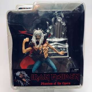 NECA 7 Inch Action Figure Iron Maiden Phantom of the Opera Eddie