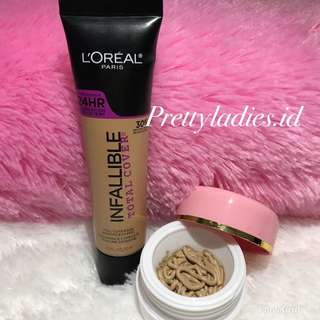 LOREAL INFALLIBLE TOTAL COVER Share In jar