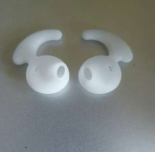 White Silicone Ear buds for Samsung S6